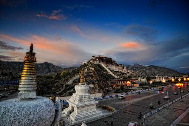 Лхаса, Китай