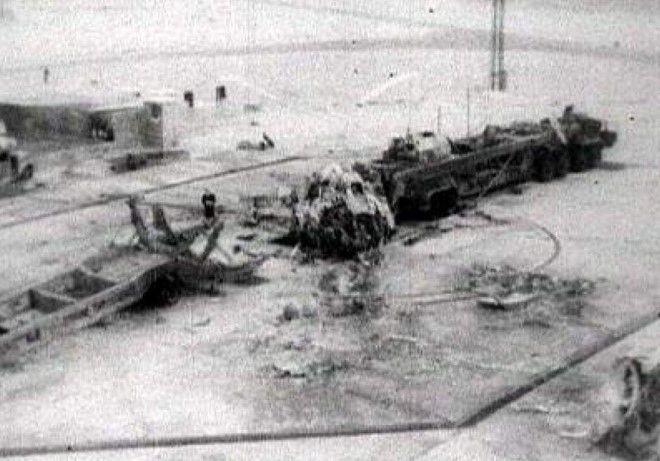 взрыв межконтинентальной ракеты 24 октября 1960 года