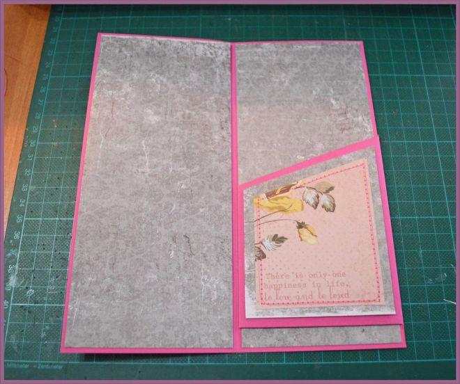 скрапбукинг открытки с конвертом внутри объявления