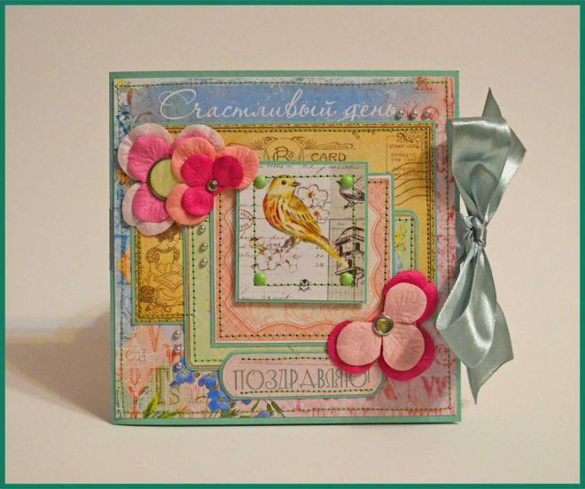 фото открыток на день рождения своими руками подруге многолетние садовые цветы