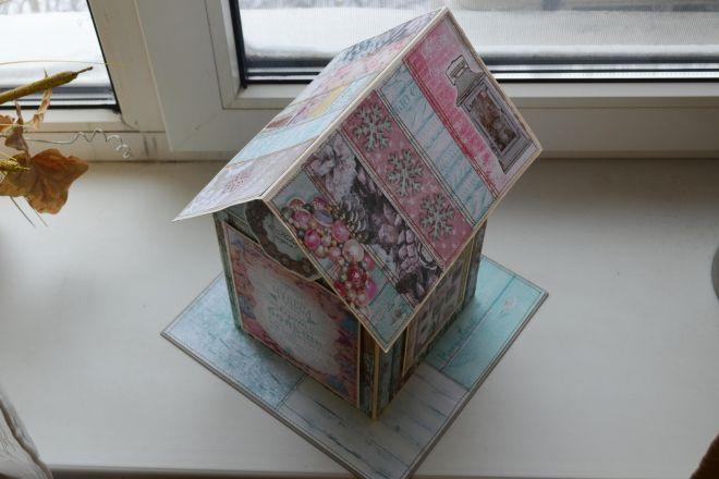 новогодний домик своими руками (24)