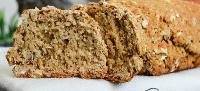 Бездрожжевой хлеб из цельнозерновой муки в хлебопечке