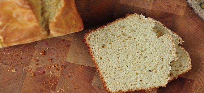 Бездрожжевой хлеб на сыворотке в хлебопечке