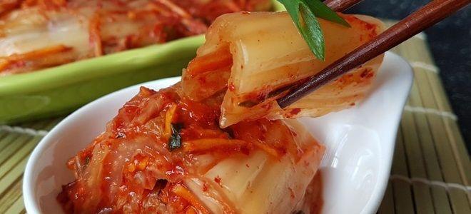 Быстрый рецепт кимчи из пекинской капусты
