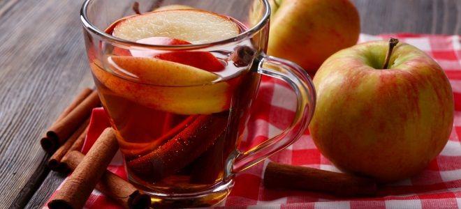 Горячий яблочный сидр - рецепт