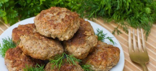 Котлеты из говядины сочные – рецепт