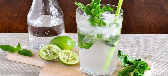 Мохито  - рецепт алкогольный с сиропом