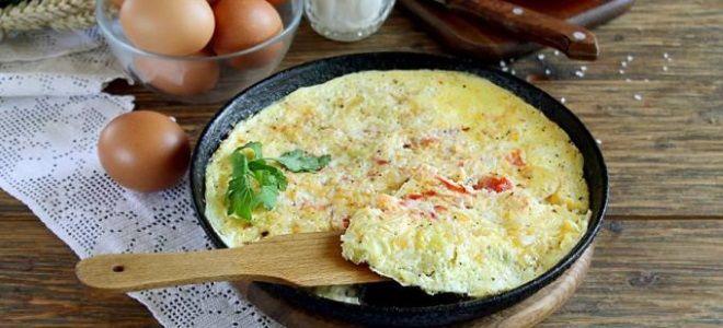 паровой омлет как приготовить на сковороде