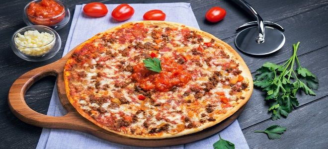 Пицца Болоньезе - рецепт