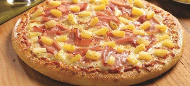 Пицца «Гавайская» - рецепт