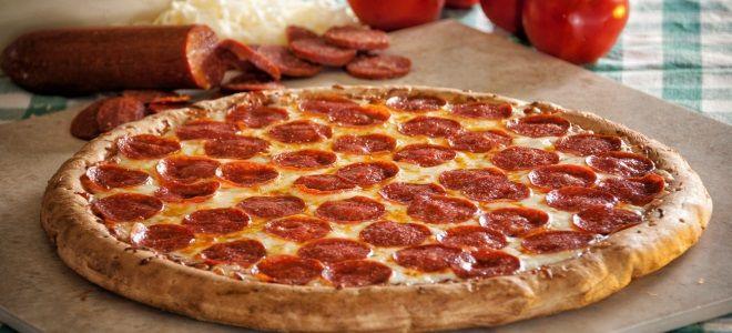 Пицца «Пепперони» - рецепт