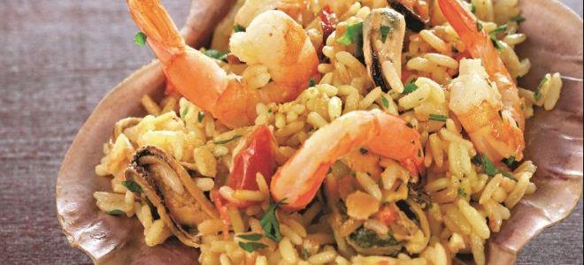плов с морепродуктами рецепт