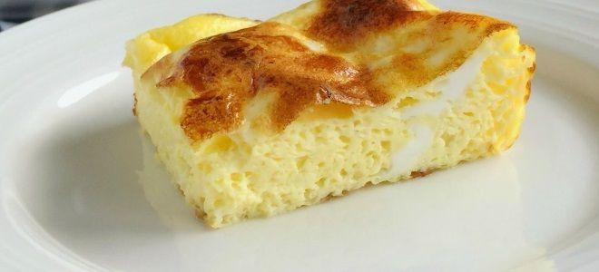 Рецепт омлета с молоком на сковороде