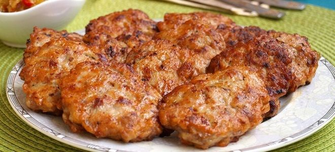 Рубленные котлеты из говядины - рецепт