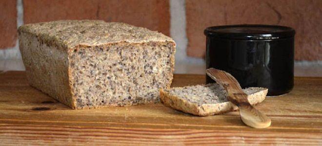 Ржаной хлеб в хлебопечке без дрожжей