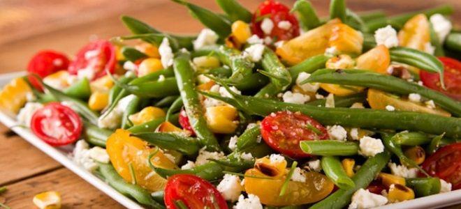 салат из стручковой фасоли рецепт