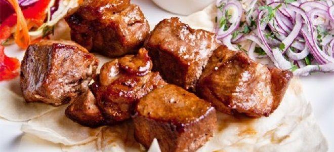 шашлык из свиной вырезки
