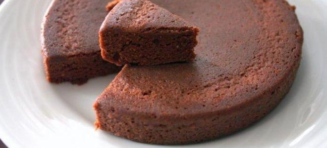 Шоколадный бисквит в микроволновке