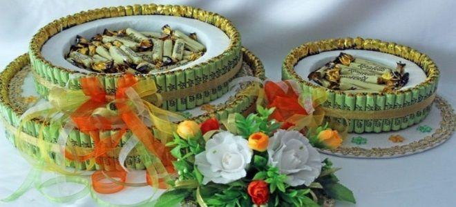 торт из конфет на день рождения