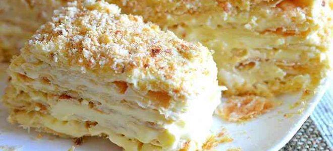торт наполеон пломбир праздничный