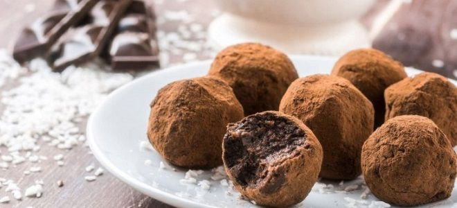 трюфели конфеты домашний рецепт