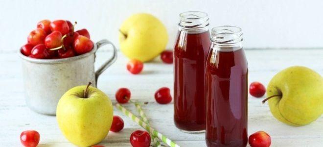 Яблочно-вишневый сидр