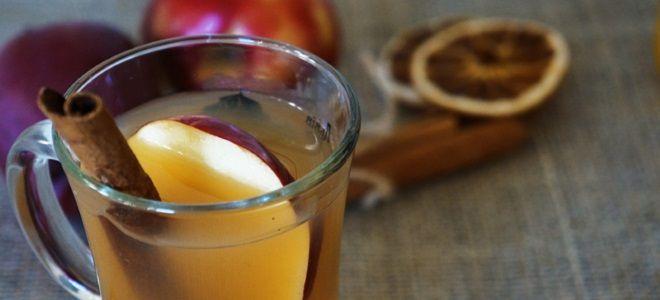 Яблочный сидр безалкогольный