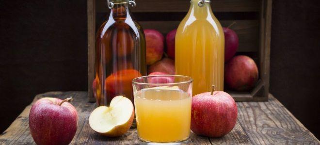 Яблочный сидр из концентрата яблочного сока