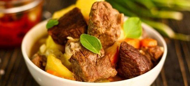 жаркое из свиной вырезки с картофелем