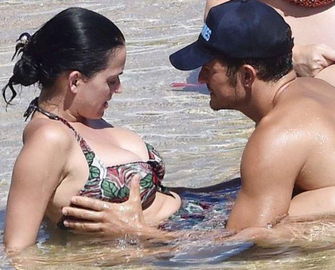 Кэти Перри отметила выход нового сингла откровенным снимком в розовом купальнике