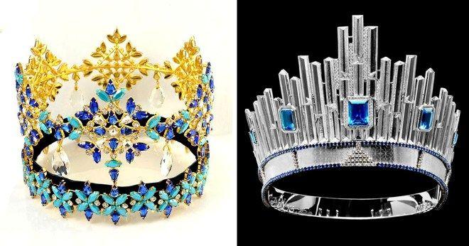 Короны Мисс Мира и Мисс Вселенная