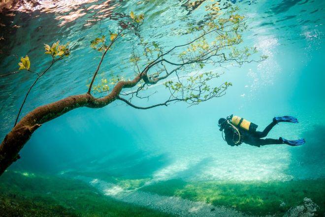 Зеленое озеро 2