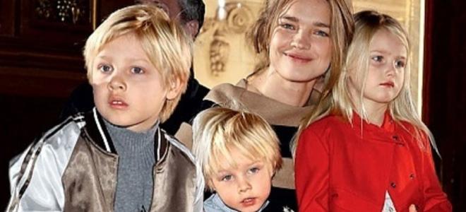 Фото водяновой с ее детьми