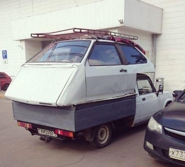 Авто Виктора Франкенштейна
