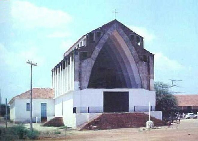 Церковь города Петроландий до затопление