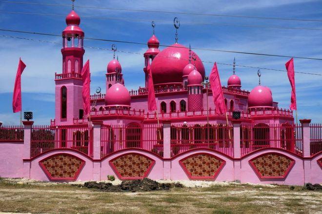 Фото Розовая мечеть