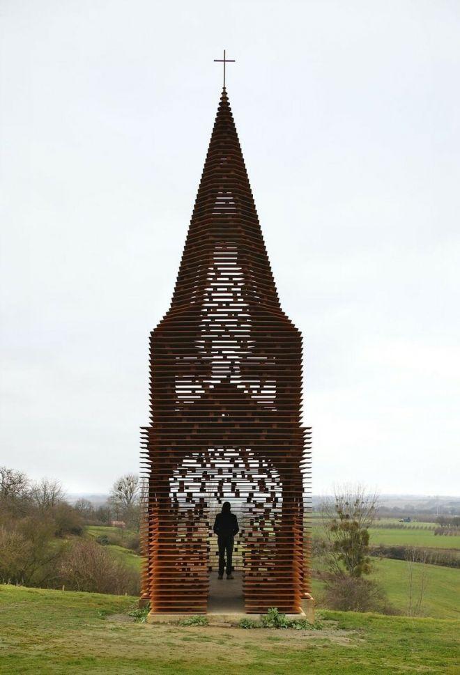 Храм в Бельгии