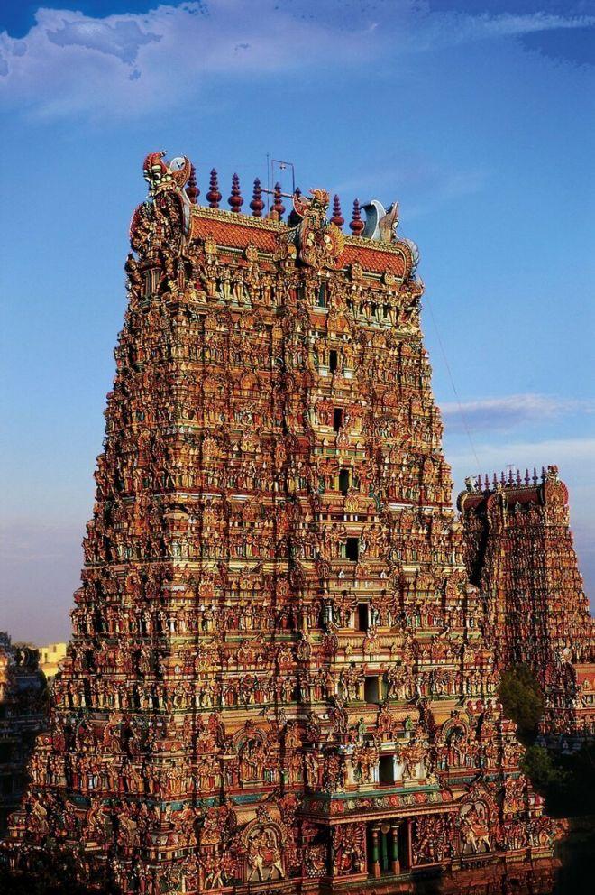 Индийский храм Минакши