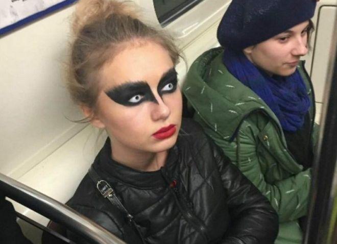 Искусство боевого макияжа