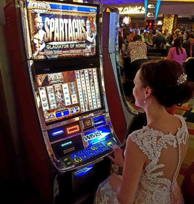 Невеста в казино