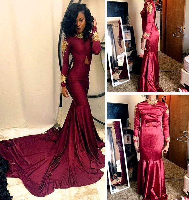 Платье на бал