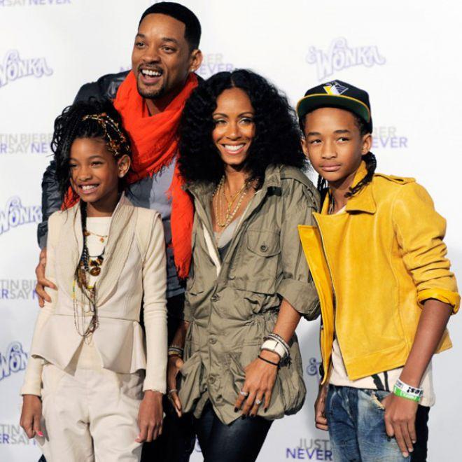 уилл смит и его семья фото макоши