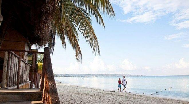 Ямайка, пляж Севен Майл Бич