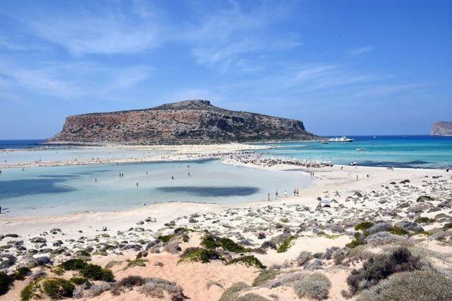 Греция, пляж Лагуна Балос