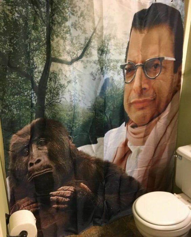 16. Эта шторка в ванную - просто прелесть