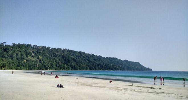 Индия, пляж Радханагар
