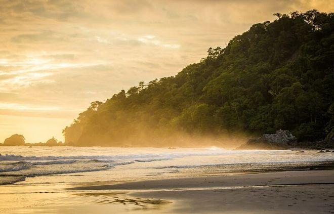Коста-Рика, пляж Плайя Мануэль Антонио