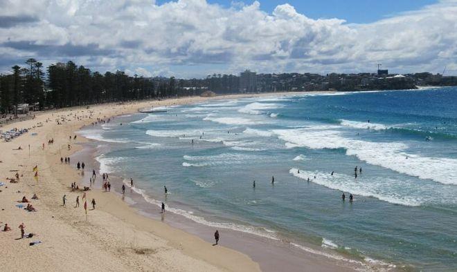 Австралия, пляж Мэнли-Бич