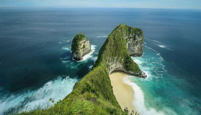 Индонезия, пляж Келинкинг