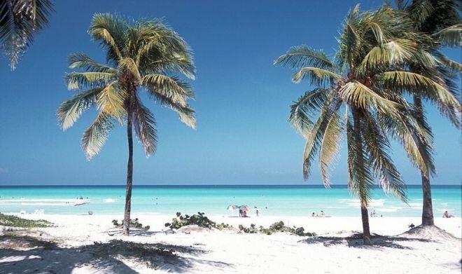Куба, пляж Варадеро